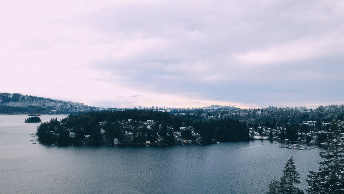Winter Hiking - Quarry Rock
